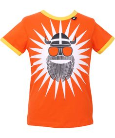 Danefæ very cool UV protective t-shirt with summer viking. danefae.en.emilea.be