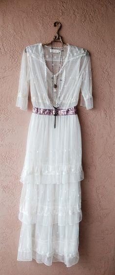 Gypsy Free people Candela Lace wedding dress