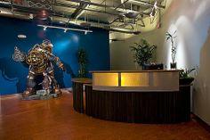 Cool Receptionist Desk
