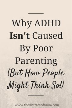 """We know that ADHD is currently diagnosed in 11% of children and that ""ADHD is more likely to occur in males, children in families with low socioeconomic status, and children with parents who have a high school diploma or GED"" (Fletcher & Wolfe, 2012). To those who wish to look no further, one could attribute ADHD to being male and growing up in a poor household with uneducated parents and call it a day. But correlation does not imply causation."""