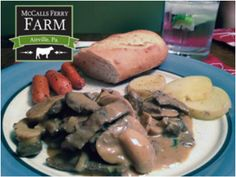 Seriously Good Beef Stroganoff - We have found that Beef Stroganoff is a little like meatloaf - everyone has a recipe and they are all different! Here is one for you to use to start your Beef Stroganoff tradition. You will not be disappointed. Best Beef Stroganoff, Meatloaf, Beef Recipes, Entrees, Sausage, Favorite Recipes, Chicken, Disappointed, Food