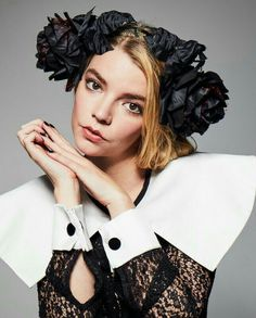 Anya Taylor Joy, Dior Haute Couture, Photo Sessions, Marry Me, Ruffle Blouse, Photoshoot, Actors, Instagram, People