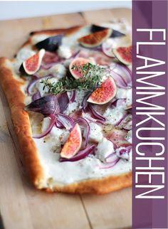 Fig Flammkuchen