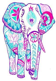 Elephant - lilly pulitzer