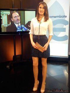 """Olalla Pena Presentadora del Programa """"Economízate"""" para TPA"""