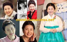 ACTRICES VETERANAS DE COREA DEL SUR, ANTES Y DESPUÉS | Mundo Fama Corea