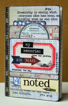 Scrap from Bemmel: Pocket Cards notebook