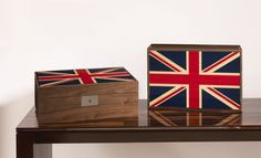 To celebrate the Queen's Diamond Jubilee and The London Olympics David Linley has created these limited edition box's. Good.