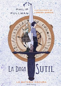 La Daga, de Philip Pullman, cover by Lorena Garcia