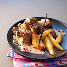 Découvrez la recette Sanglier au chutney de poires vanillées sur cuisineactuelle.fr.