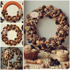 Pine Cone Wreath More