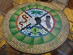 Medicine Wheel Table ::