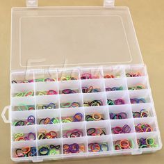 36 Grid / Slot Plastic Jewelry Adjustable Box Case Organizer Craft Storage Beads #Affiliate