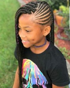 Hair Styles For Kids Braids for Kids – 35 Gorgeous Braid Styles for Little Princesses Medium Hairstyles For Girls, Black Kids Hairstyles, Kids Braided Hairstyles, African Braids Hairstyles, Girl Haircuts, Choppy Hairstyles, Teenage Hairstyles, Natural Hairstyles For Kids, Holiday Hairstyles