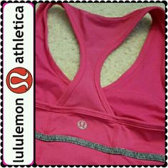 Lululemon Tank Top Lululemon Signature Brand, Stunning Hot Pink Color! Chic Lululemon Logo at the Back, Cool Racerback Style, Versatile, Tight Fitting Tank Top Designed to Stay Put! Size 4, Excellent Used Condition! lululemon athletica Tops Tank Tops