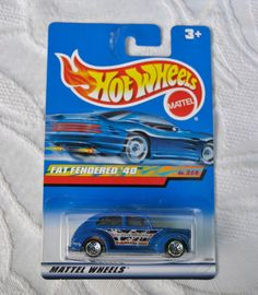 Vintage Mattel Hot Wheels Fat Fendered '40: by OrchardHouseStudio