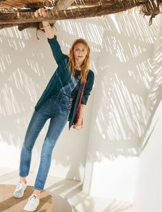 Constance Jablonski - Madewell March 2016