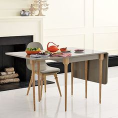 My tiny apartment needs this. Now I just need to figure out how to justify $381 for a gate-leg table.