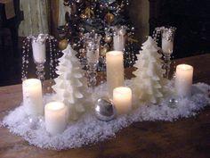 Beautiful idea for the Christmas Table