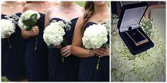 Bridesmaids gifts coordinates necklace