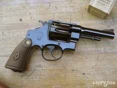 the gun of Indiana Jones / 'Bapty' Smith & Wesson Mk II Hand Ejector