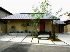 憧れた暮らしを実現した平屋のお家:大阪の注文住宅、木の家の一戸建てなら工務店「コアー建築工房」
