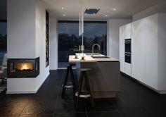 Det er nu du skal udnytte at håndværkerfradraget er tilbage Kitchen Interior, Kitchen Design, Interior Architecture, Interior Design, Kitchen Dinning, House Design, Flooring, Table, Room