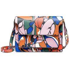 Marni Shoulder Bag ($1,945) ❤ liked on Polyvore featuring bags, handbags, shoulder bags, bolsa, powder pink, marni purse, marni shoulder bag, shoulder strap handbags, pink handbags and man bag