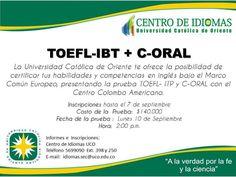CENTRO DE IDIOMAS UCO Chart, Languages, Centre