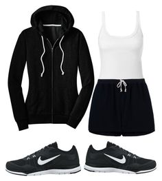 """""""Out for a run"""" by burntclothing ❤ liked on Polyvore"""