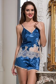 "Комплект с шортами Mia-Amore 3192 ""Chantal"" натуральный шелк оптом"