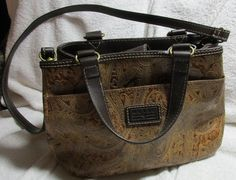 Relic Quality Brand Leather Handbag Purse with Shoulder Strap Very Roomy #Relic #ShoulderBag