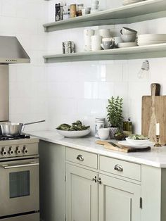 pale palette, small, simple kitchen remodels - Google Search