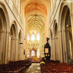 Kathedrale von Quimper. Carthedral in Brittany.