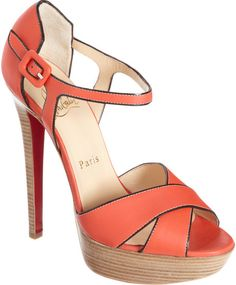 Christian Louboutin ~ Sporting High Heel Platforms