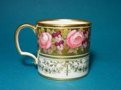 Gardner Russian Empire Coffee CAN CUP 1800 Tasse Litron Locre Paris | eBay