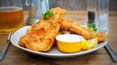 Very British: Fish and Chips aus der Heißluftfritteuse