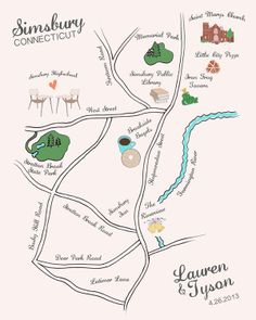wedding maps - Read more on One Fab Day: http://onefabday.com/wedding-stationery-with-maps/