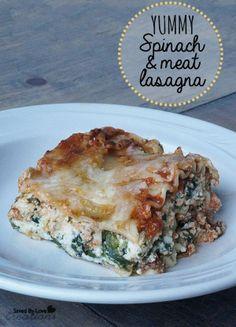 Healthy and delicious Lasagna recipe @savedbyloves .