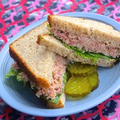 Winter Blossom's Often Requested Ham Salad Sandwich is a great way to use up Holiday ham leftovers.   Chop the ham in the food processor to make the recipe even easier.