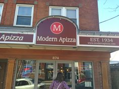 Modern Apizza in New Haven, CT