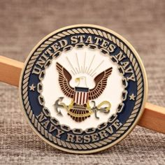 Navy Reserve Challenge Coins are usually ordered by U. Navy due to its special design and durable modeling. You can order any custom coins for any purpose at GS-JJ. Custom Challenge Coins, Military Challenge Coins, Us Navy Reserve, Custom Lapel Pins, Different Symbols, Sale Logo, Custom Embroidered Patches, Custom Coins, Free Artwork