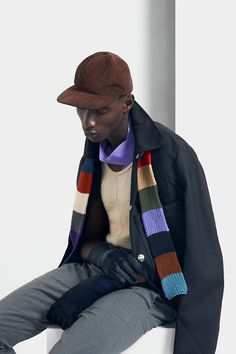 The Outsiders  Adonis Bosso at DNA Models, Ian Sheridan and Daisuke Ueda at New York Models, shot by Damien Kim and styled by DaVian Lain with pieces from Saint Laurent, Calvin Klein, Prada, Carven, Comme des Garçons and more, for the latest issue of Vulture magazine.  Make-up: Aya Kudo Hair: Michiko Yoshida Set Designer: Jin Yi Yang