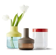 Nouveauté Ikea -- vase en verre et acier -- design éco-responsable ! // New Ikea - steel and glass vase - so eco-friendly design !