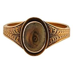 Lover's Eye 19th century ring
