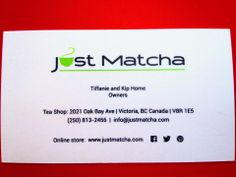 Our business cards. Thank you to our amazingly talented graphic designer, Wendy Wall, from Off The Wall Designs.