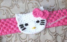 Baby Girl Hello Kitty Headband White Pink