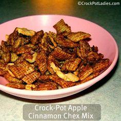 Crock-Pot Cinnamon Apple Chex Mix Recipe