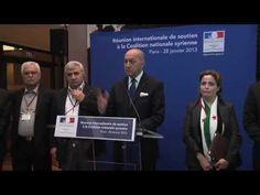 Politique - Conférence de presse de Laurent Fabius - 28/01/13 - http://pouvoirpolitique.com/conference-de-presse-de-laurent-fabius-280113/