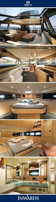 Riva Sportriva 56 - interior  To view the latest Riva Yachts visit our website.